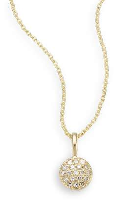 Saks Fifth Avenue Women's Diamond & 14K Yellow Gold Necklace