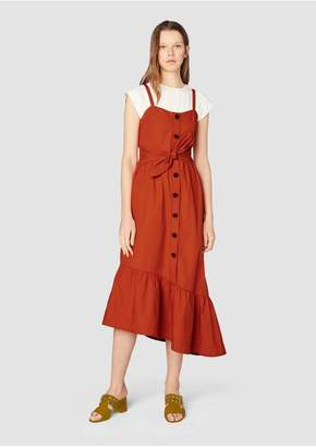 Derek Lam 10 Crosby Cami Dress With Ruffle Hem