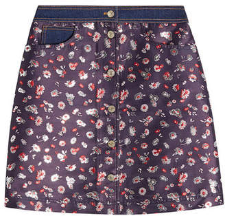 Tommy Hilfiger Jacquard Mini Skirt
