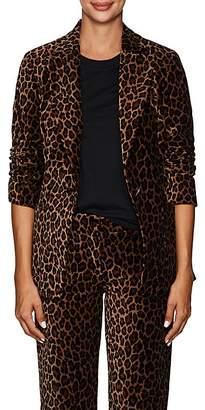 A.L.C. Women's Mercer Leopard-Print Velvet Blazer