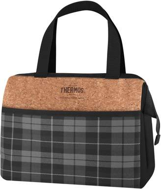 Thermos Heritage Plaid 9-Can Lunch Duffel Bag