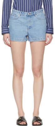A.P.C. Blue High Standard Shorts