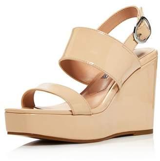 9585e909cf9e Charles David Women s Jordan Patent Leather Platform Wedge Sandals