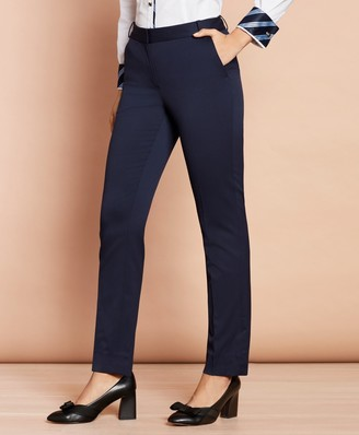 Brooks Brothers Slim-Fit Stretch Wool Pants