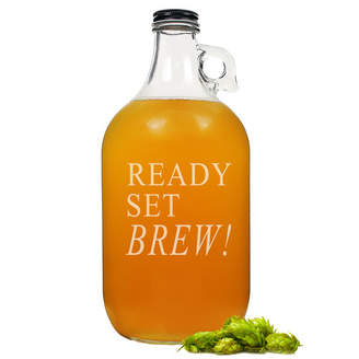 """Cathy's Concepts Cathys Concepts """"Ready, Set, Brew!"""" Growler"""