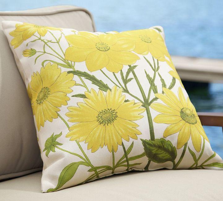 Dahlia Outdoor Pillow