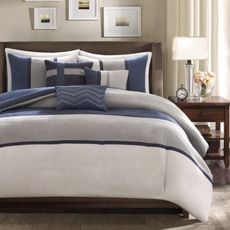 Home Essence Overland 7-Piece Microsuede Comforter Set