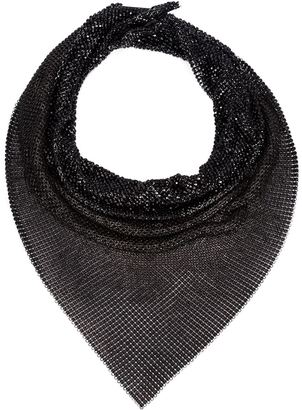 Michael Schmidt Swarovski crystal kerchief necklace $3,293 thestylecure.com