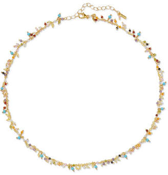Chan Luu Gold-plated Crystal Choker