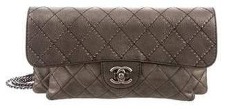 Chanel Metallic Calfskin Flap Bag