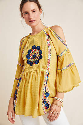 Bhanuni by Jyoti Bexley Open-Shoulder Tunic