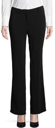 Ellen Tracy Petite Signature Flared Trousers