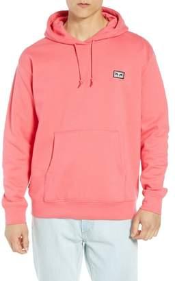 Obey All Eyez Appliqued Hooded Sweatshirt
