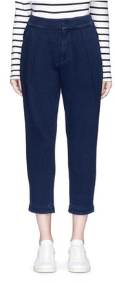 AG 'Rhom' cropped sweatpants $295 thestylecure.com