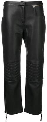 By Malene Birger Virana leather trousers