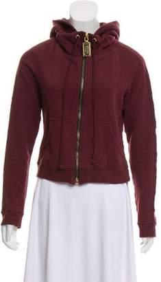 Marc Jacobs Hooded Zip-Up Sweatshirt