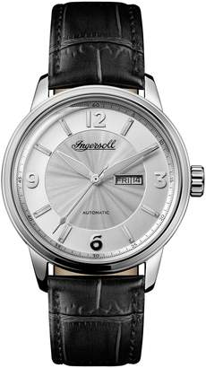 Ingersoll WATCHES Regent Automatic Leather Strap Watch