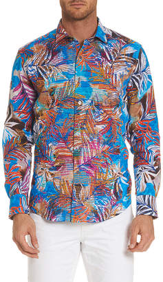 Robert Graham Kingpin Louie Limited Edition Linen Classic Fit Woven Shirt