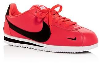 Nike Men's Classic Cortez Premium Leather Low-Top Sneakers