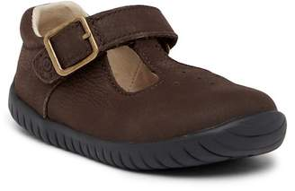 Stride Rite Lindsey T-Strap Leather Shoe (Toddler)