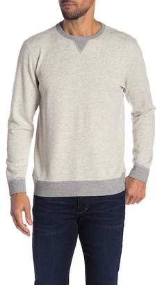 Faherty BRAND Contrast Trim Crew Neck Sweater