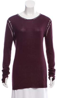 Ann Demeulemeester Distressed Knit Sweater