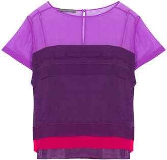 Alberta Ferretti Short Sleeve Top
