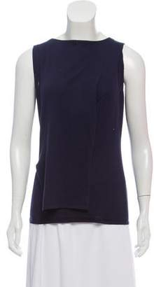 Maison Margiela Rib Knit Sleeveless Top