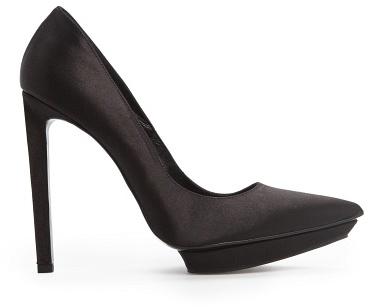 MANGO Outlet Satin Stiletto Shoes