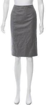 Valentino Wool Knee- Length Skirt
