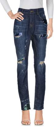 Manila Grace DENIM Denim pants - Item 42624774UA