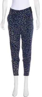 Barbara Bui Silk Mid-Rise Pants
