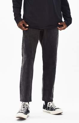 PacSun Black Baggy Taper Jeans