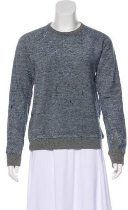 Alexander Wang Distressed Knit Sweatshirt