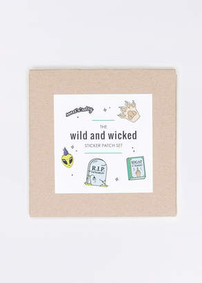 Wildfang The Wild & Wicked Sticker Patch Set - The Wild & Wicked Sticker Patch Set - MULTI - OS