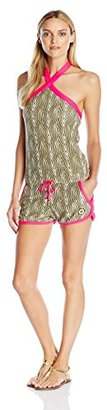 Juicy Couture Black Label Women's Ft Micro Terry Romper $148.02 thestylecure.com