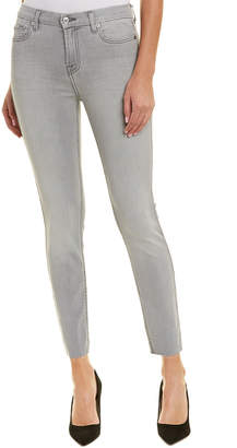 7 For All Mankind Seven 7 The Ankle Sky Grey Super Skinny Leg