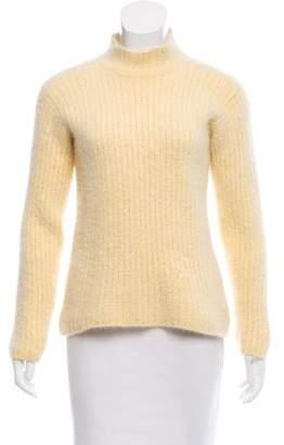 Loro Piana Cashmere Mock Neck Sweater