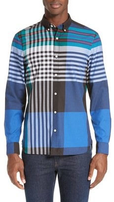 Men's Burberry Brookhouse Slim Fit Sport Shirt $295 thestylecure.com