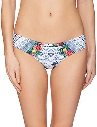 Agua Bendita Women's Zoe Skyflower Bikini Bottom