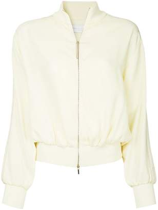 Fabiana Filippi zipped bomber jacket
