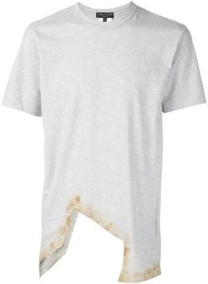 Comme des Garcons asymmetric cut-out T-shirt