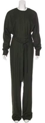 Tibi Straight Leg Long Sleeve Jumpsuit w/ Tags