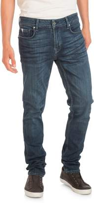 GUESS Soft Luxe Slim Tapered-Fit Jeans