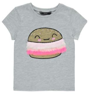 George Sequin Burger T-Shirt