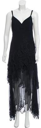 Christian Dior Tiered Evening Dress