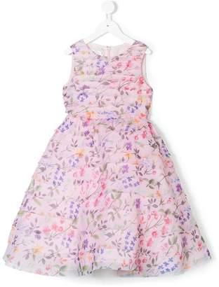 Oscar de la Renta Kids Organza spring field dress