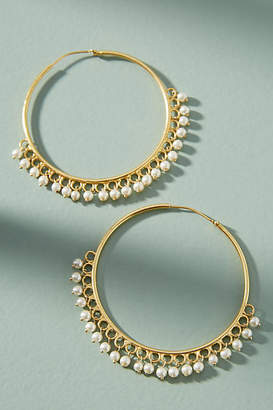 Anthropologie Oleana Hoop Earrings