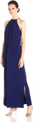 MSK Women's Halter Maxi Dress