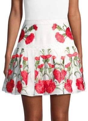 Alexis Beda Floral Skirt